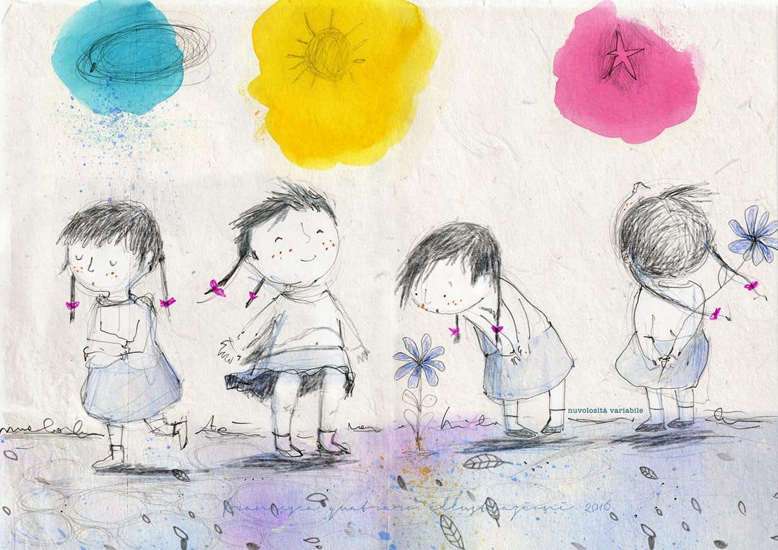 Francesca Quatraro: mi occupo d'illustrazione, amo le storie ed amo raccontarle. - 2020