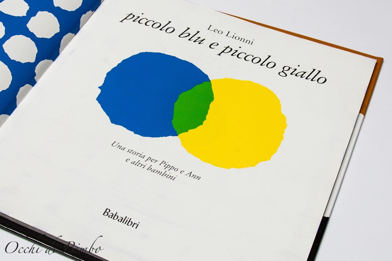 Piccolo blu e piccolo giallo un libro di Leo Lionni - 2020
