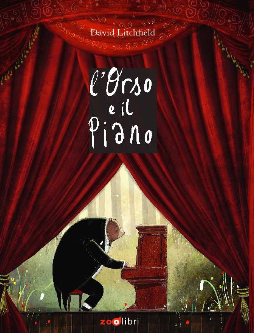 L'orso e il piano di David Litchfield - 2021