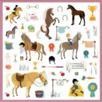stickers-chevaux