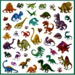 stickers-dinosaures