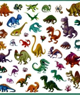 stickers-dinosaures