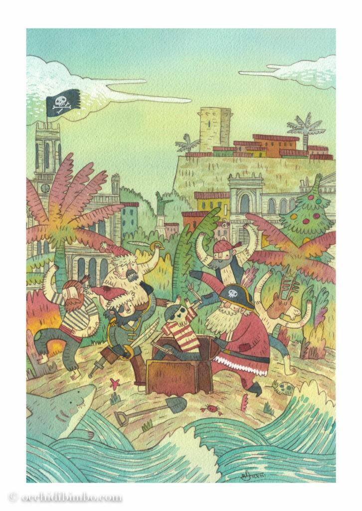 Conosciamo Riccardo Atzeni illustrazione e animazione 2D - 2021
