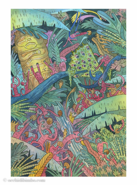 Conosciamo Riccardo Atzeni illustrazione e animazione 2D - 2020