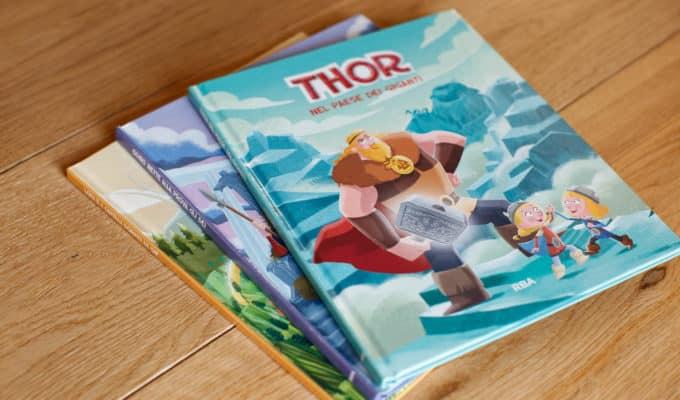 """Libri per bambini: a casa leggendo """"Miti e Dei Vichinghi"""" - 2021"""