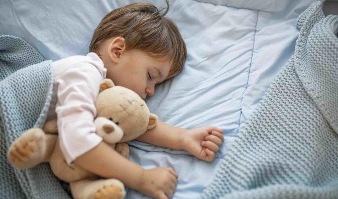 dormire - occhi di bimbo